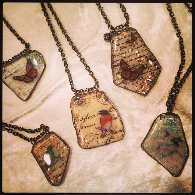 More pendants will be available during the Holiday Open Studio